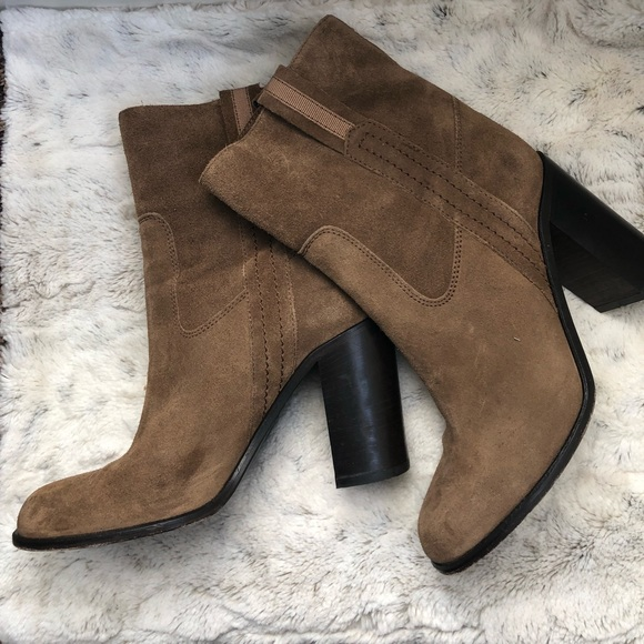 Kate Spade Brown Suede Boots
